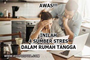 sumber stres dalam rumah tangga