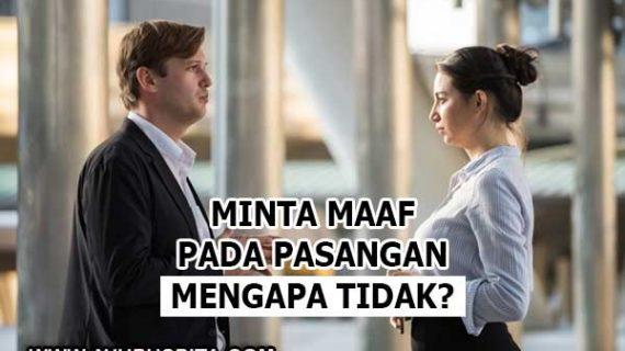 Bersalah pada Pasangan dan Ingin Minta Maaf? Lakukan Cara Ini dengan Serius!
